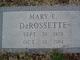 Mary Ethel <I>Perrin</I> DeRossette