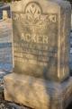 Ida M. <I>Porter</I> Acker