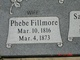 Profile photo:  Phoebe <I>Fillmore</I> Bills
