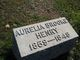 Aurelia H <I>Brooke</I> Henry