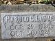 Harold C LaDue