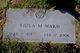 "Viola Marie ""Viley"" <I>Wagner</I> Ward"