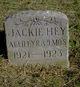 Jackie Hey