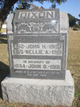 "Profile photo:  Eleanor Adeline ""Nellie"" <I>McMillan</I> Dixon"