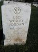 Profile photo:  Leo Wesley Jordan