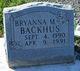 Bryanna M. Backhus