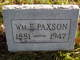 William Elza Paxson