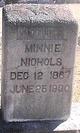 C Minnie <I>Dawson</I> Nichols