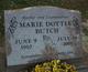 Marie <I>Dottle</I> Butch