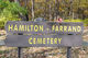Hamilton-Farrand Cemetery