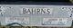 John H Bahrns
