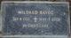 Mildred Bavec