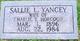 Sallie Lizzie <I>Yancey</I> Hobgood