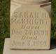 Sarah <I>Howell</I> McKnight