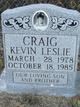 Kevin Leslie Craig