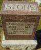 Martha J Stone