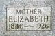 "Profile photo:  Elizabeth ""Libby"" <I>Churchill</I> Adams"