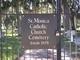 Saint Monicas Catholic Cemetery