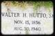 Walter Howard Hutto, Sr
