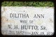 Dilitha Ann <I>Young</I> Hutto