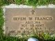 Sgt Irven W. Francis