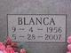 Blanca E Castillo