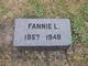 Fannie L McClure