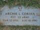 Profile photo:  Archie L. Corder