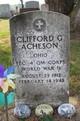 Profile photo:  Clifford Granville Acheson
