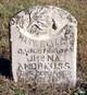 Mary Elizabeth <I>Andrews</I> Andrews