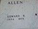 Profile photo:  Edward R. Allen