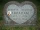 "Profile photo:  Roberta Christine ""Berta"" Abraham"
