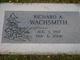 "Richard Alon ""Dick"" Wachsmith"