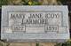 Mary Jane <I>Coy</I> Larmore