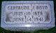 Gertrude J. Boyd