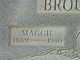 """Mary Magdalene """"Maggie"""" <I>Dillow</I> Broughton"""