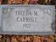 Frieda M Carroll