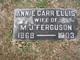 Annie Carr <I>Ellis</I> Ferguson