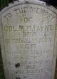 Col Mathew Mountjoy Payne