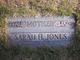 "Profile photo:  Sarah Helen ""Granny"" <I>Finchum</I> Brooks Jones Green"