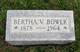 "Profile photo:  Bertha Violet ""Bird"" <I>Thompson</I> Bower"
