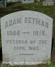 Profile photo:  Adam Getman