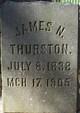 Pvt James Nathaniel Thurston