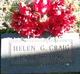 Profile photo:  Helen G <I>Gfroerer</I> Craig