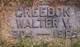 Walter V Creedon