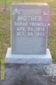 Sarah Trowell