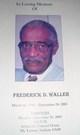 Frederick Waller