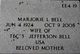 Marjorie Lois Bell