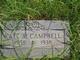 """Catherine """"Kate"""" <I>Ashworth</I> Campbell"""