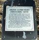 Aker Cemetery